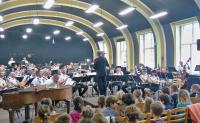 Hudební program orchestru Hradní stráže pro žáky 1.A a 1.B