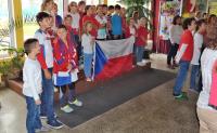 Žáci školy si připomněli 100. výročí vzniku ČSR