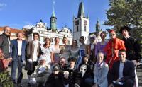 Vystoupení žáků na oslavách 800. výročí založení Litoměřic